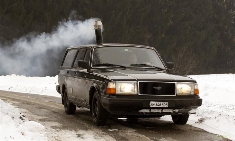 Швейцарский тюнинг Volvo 240 (фото)