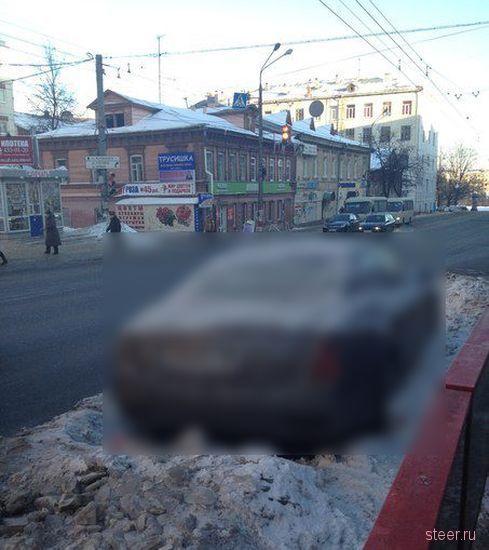 Нижегородский Maserati Quattroporte потерялся в Москве (фото)