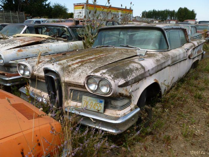 Автомобильное кладбище в Оригоне (фото)