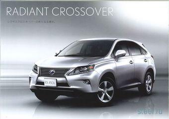Lexus RX в результате рестайлинга получил новый фирменный стиль премиального бренда (фото)