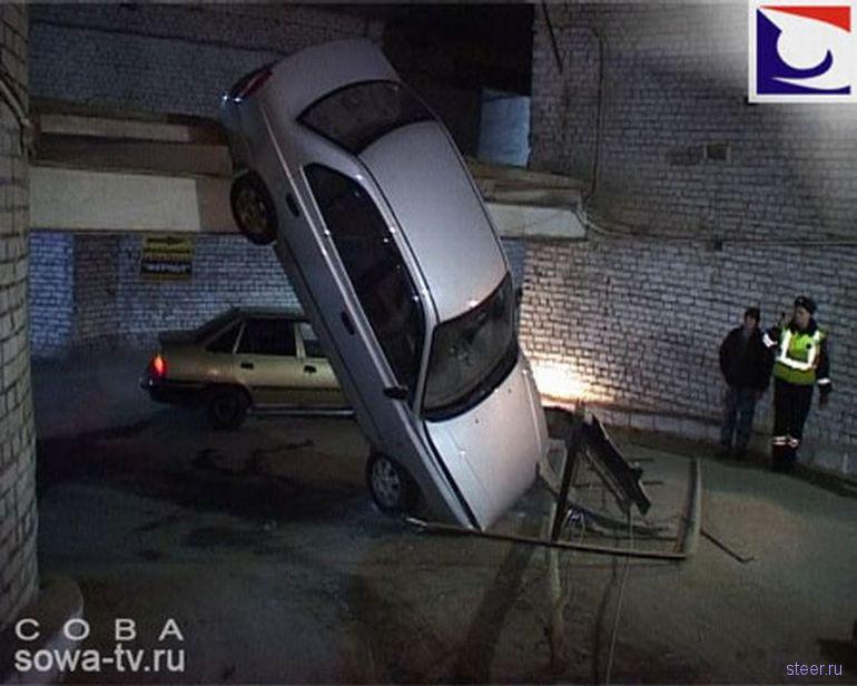 Опасная парковка (фото)