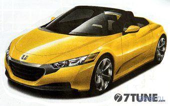 Honda собирается возродить микро-спорт-кар Beat (фото)