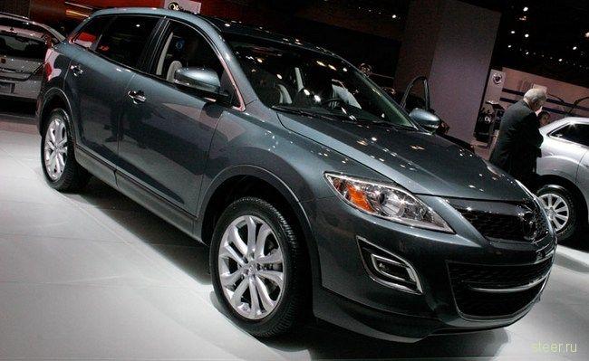 Обновленная Mazda CX-9 представлена в Нью-Йорке (фото)