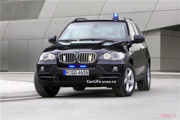 BMW X5 с матюгальником в базе (фото)