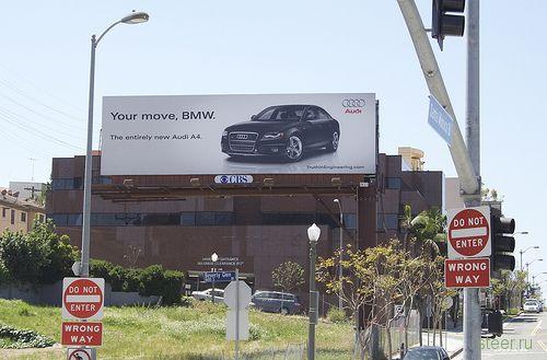 Трехлетняя рекламная война автогигантов продолжается с явным преимуществом в пользу BMW (фото)