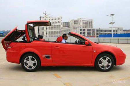 BYD S8 Convertible – Китайский кабриолет (фото)