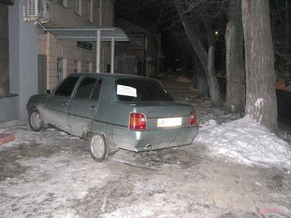 Очень вежливый водитель (фото)