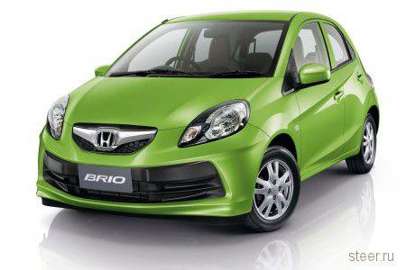 Honda анонсировала серийную версию Brio (фото)