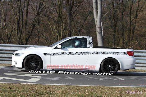 Из BMW M3 сделали пикап (фото)