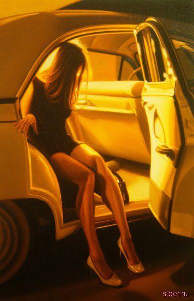 Сочетаемая красота : женщины и автомобили (фото)