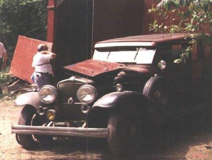 Золотой металлолом из гаража старика Миллера (фото)