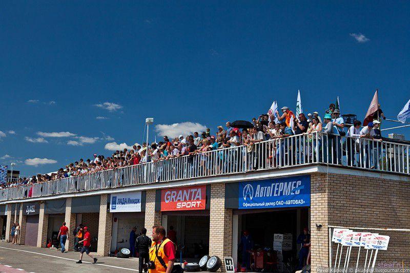 Фото первого этапа Кубка LADA Granta (фото)