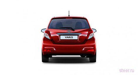 Toyota рассекретила европейскую версию нового Яриса