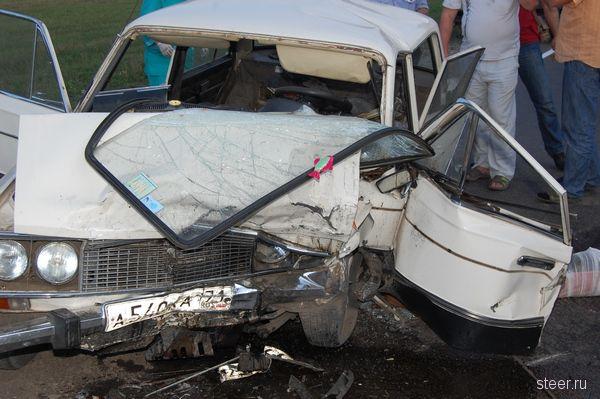 Страшная авария в Липецкой области (фото)