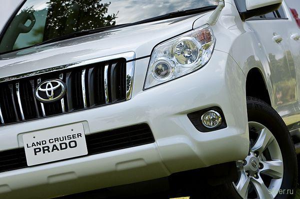 Toyota официально представила новое поколение Land Cruiser Prado (фото)