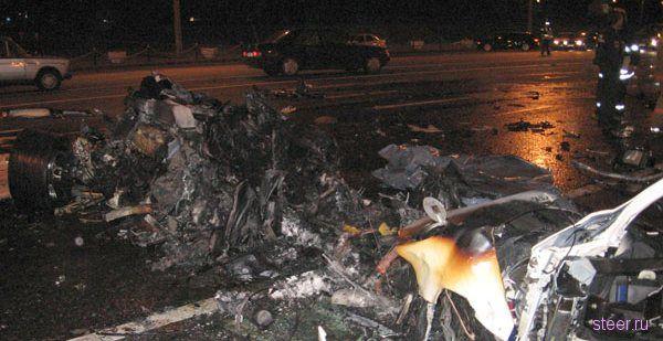Финансовый директор РЕСО–Гарантия разбился на Кутузовском на своем Ford GT-1000 (фото)
