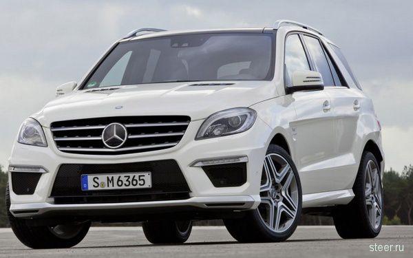 Mercedes-Benz показал обновленный внедорожник ML63 AMG раньше срока. (фото)