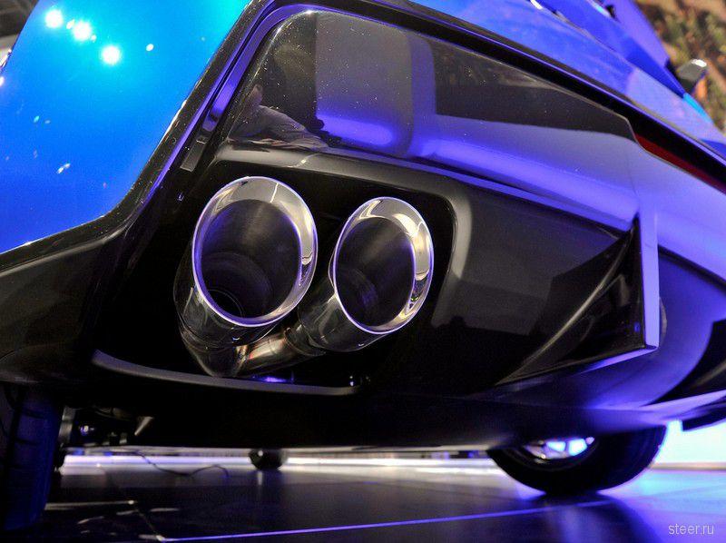 Живая премьера Subaru BRZ Concept STI (фото)