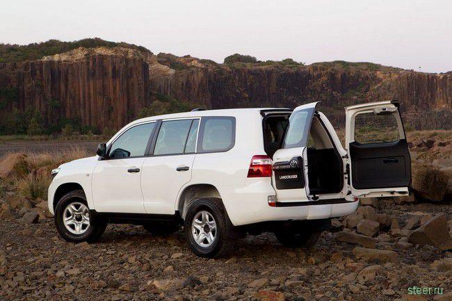Toyota Land Cruiser GX: неубиваемый Land Cruiser для австралийских фермеров и горнорабочих (фото)