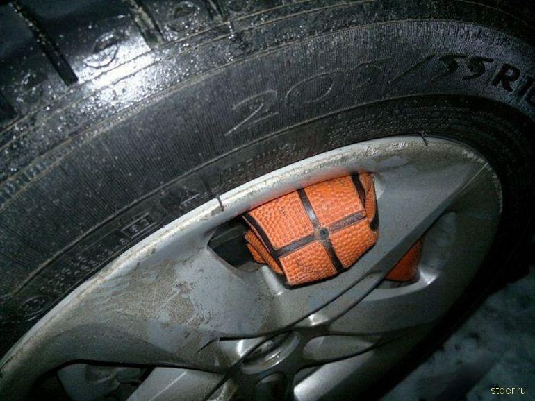 Водительская хитрость (фото)
