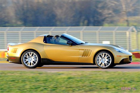 P540 Superfast Aperta: Уникальный суперкар Ferrari для миллионера (фото)
