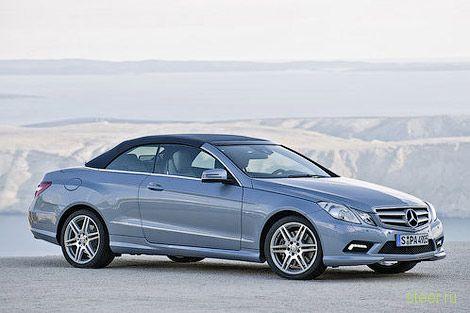 Немецкий журнал рассекретил кабриолет Mercedes-Benz E-Class (фото)