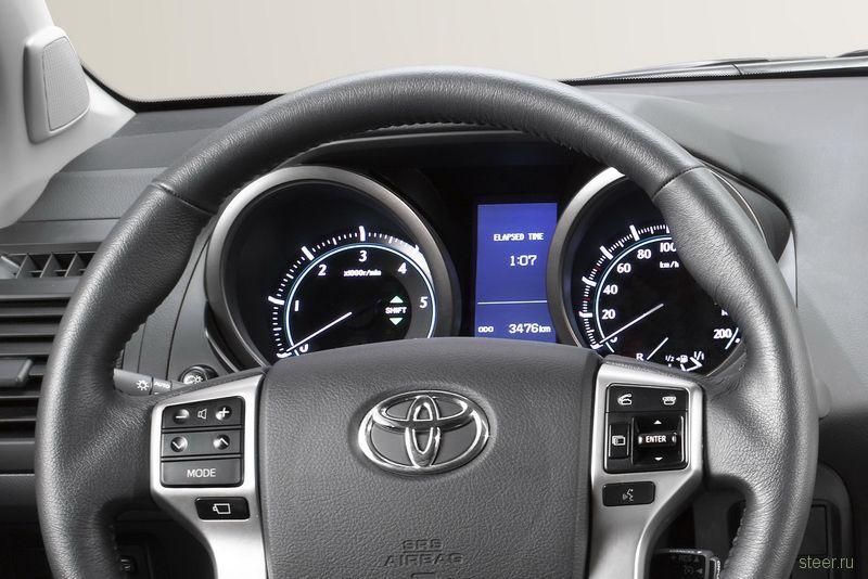 24 декабря в России начнутся продажи нового поколения Toyota Land Cruiser Prado (фото)