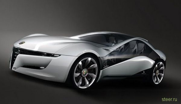 Концепт Alfa Romeo Pandion : первые фото (фото)