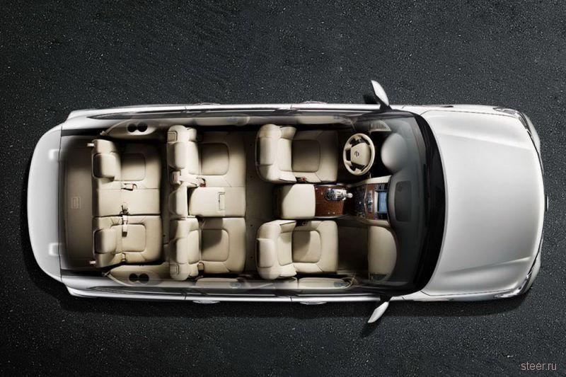 Nissan представил новое поколение внедорожника Patrol (фото)