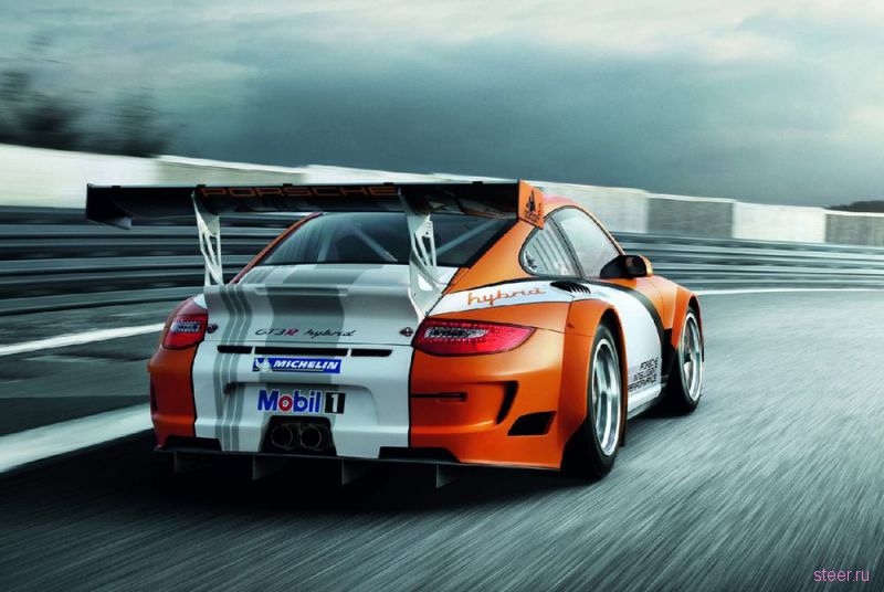 Porsche создал гибридный суперкар 911 GT3 R (фото)