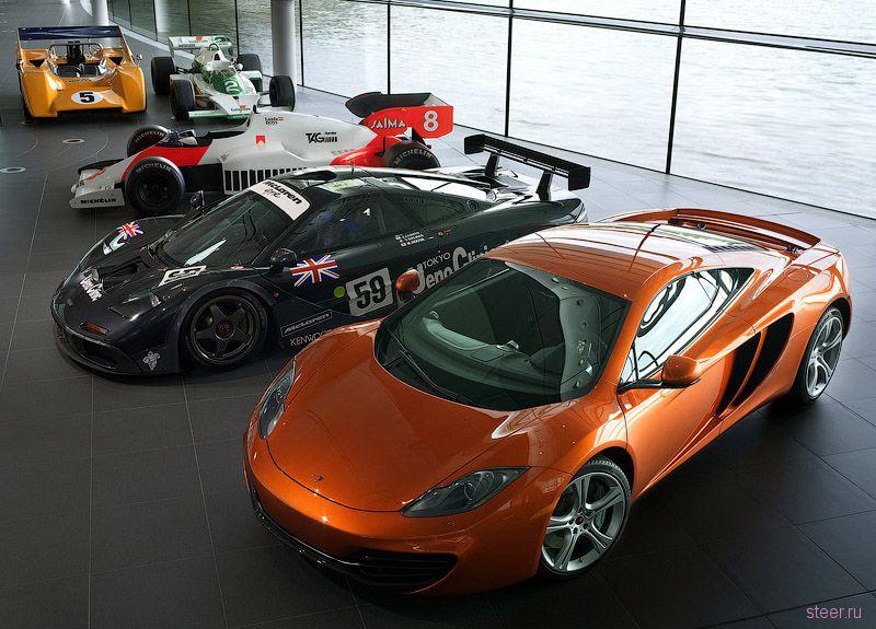 McLaren MP4-12C разгонится до 200 километров в час за 10 секунд (фото)
