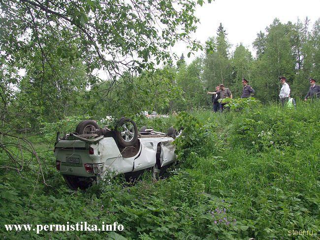 пермского министра снес с дороги ВАЗ (фото)