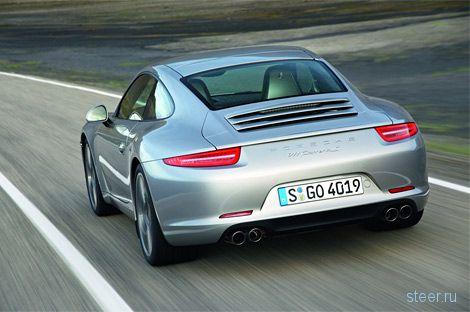 Фото нового Porsche 911 попали в сеть раньше срока (фото)