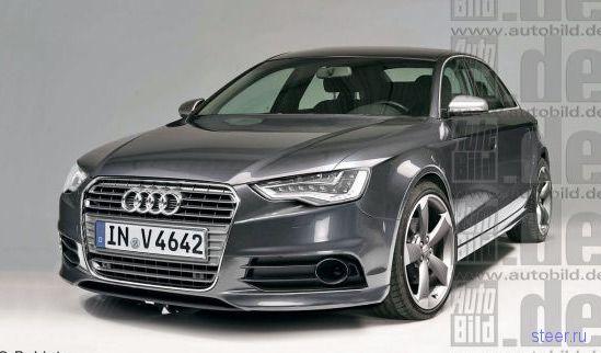 Появились первые фотографии новой Audi A4 (фото)