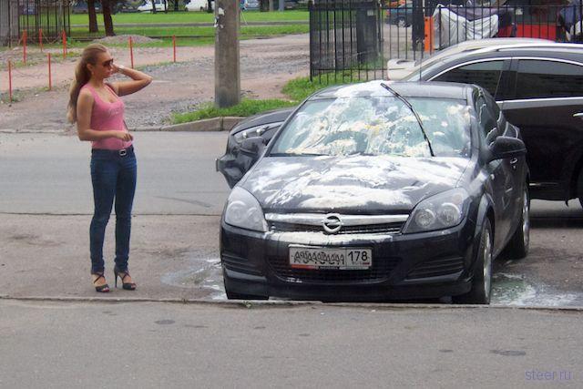 Автомобильная месть (фото)