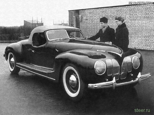 спортивные автомобили СССР