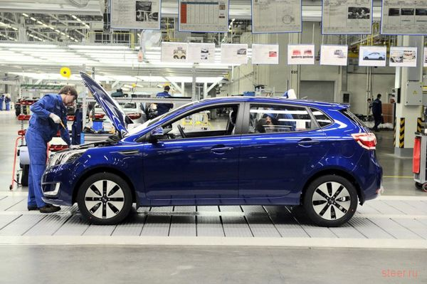 На рынок выходит пятидверный Kia Rio (фото)