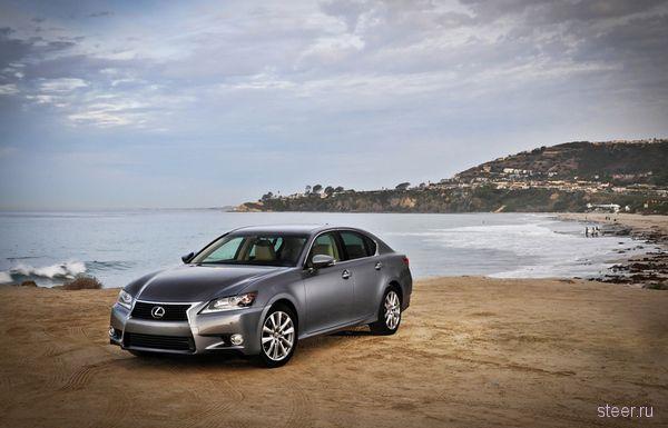 Новый Lexus GS будет стоить в РФ от 1,73 млн рублей (фото)
