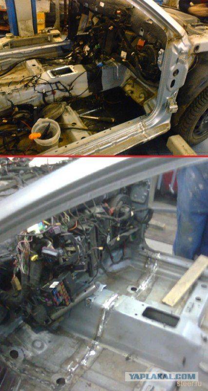 восстановление автомобиля