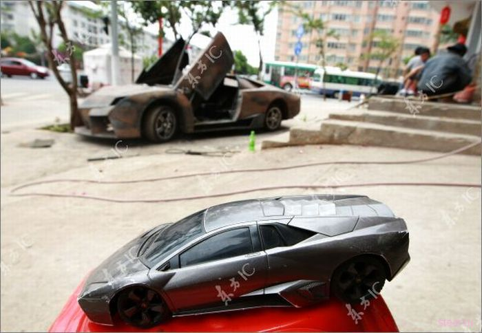 Китаец создал клон Lamborghini Aventador за 14000$ (фото)
