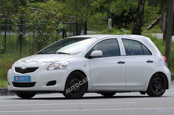 Новая Toyota Yaris. Испытания начались (фото)