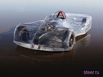 Американские школьники построили электрокар с прозрачным кузовом (фото)