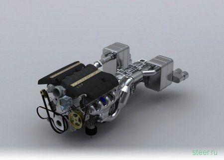 Спорткар Arash AF-10 позаимствует двигатель от Corvette Z06 LS7 (фото)