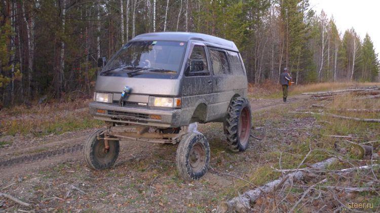 Автомобиль для охоты (фото)