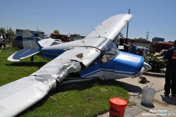 Редчайшая авария в Новом Орлеане (фото)