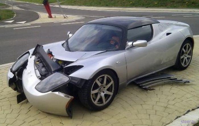 Разбитые суперкары (фото)
