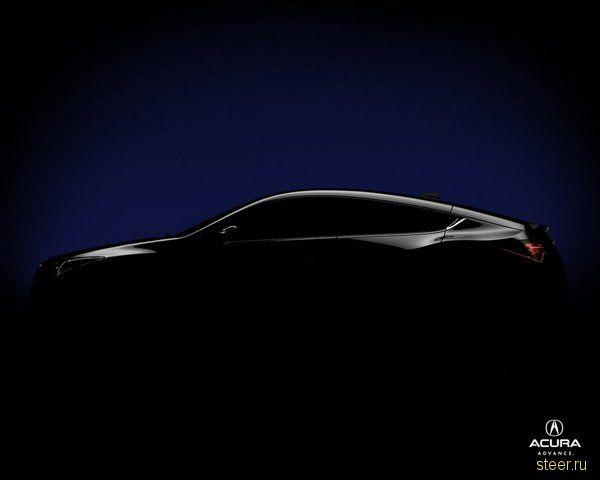 Тизеры абсолютно нового кроссовера от Acura (фото)