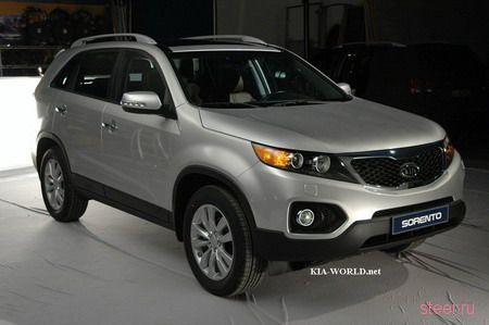 Новый Sorento XM 2010 модельного года (фото)