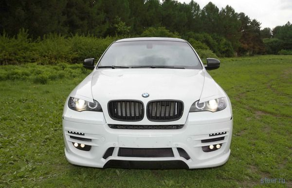 Московский тюнинг для BMW X6 (фото)