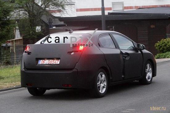 Шпионские снимки нового поколения Honda Civic (фото)